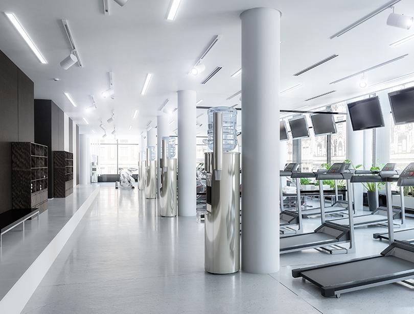 Luftreiniger Fitnessstudio