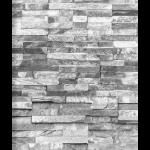 Steinwand grau